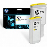 Картридж HP B3P21A, Yellow, 130 мл (O)
