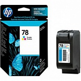 Картридж HP №78 C6578D Color (19мл) (О)